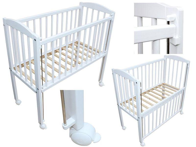Beistellbett kinderbett 90x40 cm ohne matratze r der for Fenster 90x40