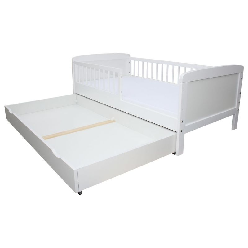 kinderbett juniorbett 160 x 70 cm incl lattenrost und schublade weiss ebay. Black Bedroom Furniture Sets. Home Design Ideas