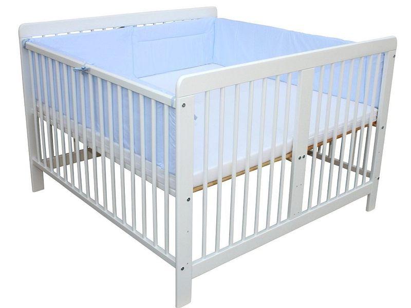 zwillingsbett kinderbett bett f r zwillinge optional mit matratzen und nestchen ebay. Black Bedroom Furniture Sets. Home Design Ideas