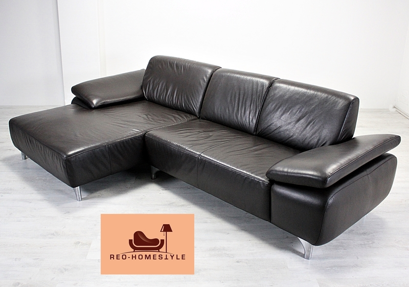 Ecksofa Modern. Beautiful Munich Extra Long Couch With Faux Leather ...