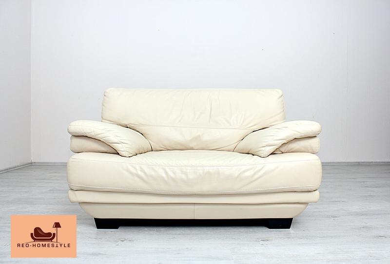 natuzzi italsofa 3er sessel garnitur designer sofa leder. Black Bedroom Furniture Sets. Home Design Ideas